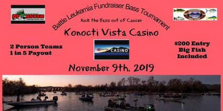 BATTLE LEUKEMIA FUNDRAISER BASS TOURNAMENT tickets