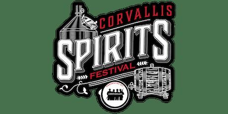 Corvallis Spirits Festival tickets