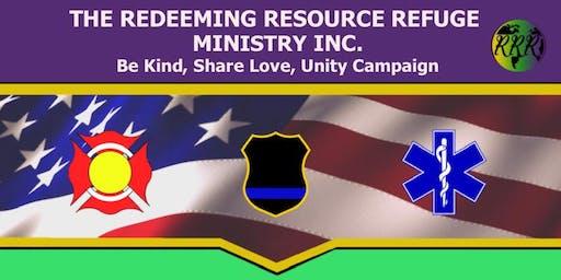 First Responders Appreciation Emergency Fundraising Banquet