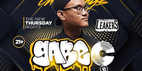 The NEW NEW Thursday Nights with DJ GABE C - Sevilla LONG BEACH tickets