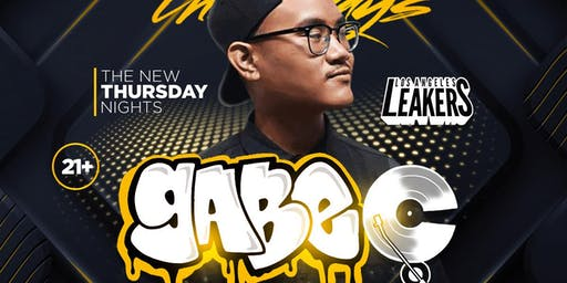 The NEW NEW Thursday Nights with DJ GABE C - Sevilla LONG BEACH