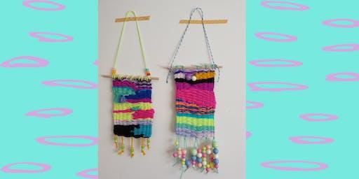 Weaving Wallhangings_ School Holiday Program