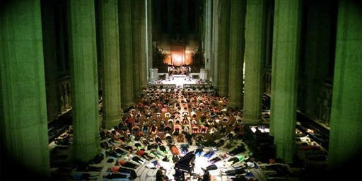 Flow Piano Sound Bath at Grace Cathedral