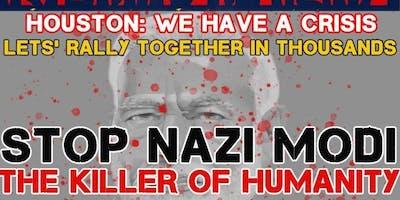 Kashmir Rally (STOP NAZI MODI - The Killer of Humanity)