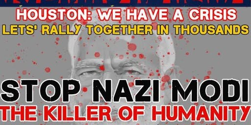 Kashmir Rally (STOP NAZI MODI - The Killer of Humanity)