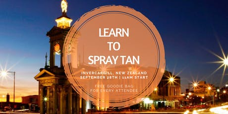Learn To Spray Tan | Invercargill, NZ tickets