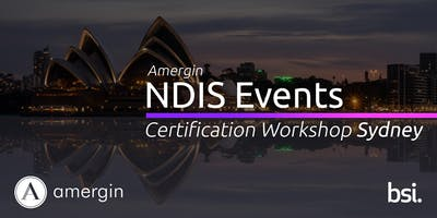 Amergin NDIS Certification 2-Day Workshop (Sydney)