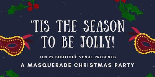 Masquerade Christmas Cocktail Party at Ten22!