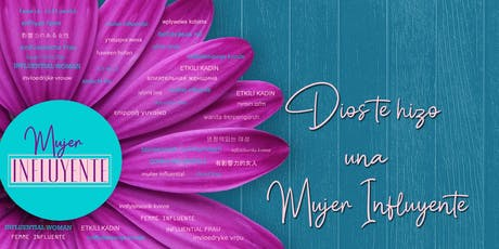 CONFERENCIA MUJER INFLUYENTE tickets
