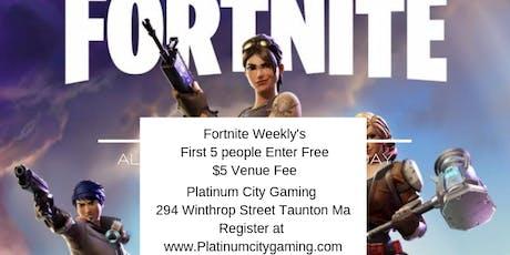 PCG's Fortnite 1v1 Weekly tickets