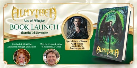 ALMYTHEA - 'Rise of Wingtar' Book Launch tickets