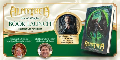 ALMYTHEA - 'Rise of Wingtar' Book Launch