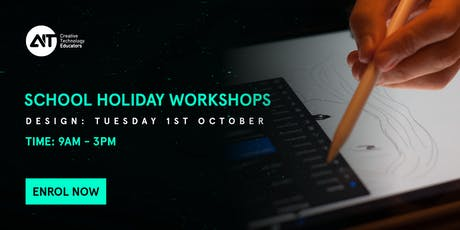 School Holiday Workshop (MEL): Digital Design tickets