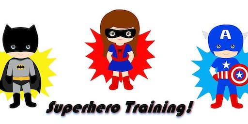 Superhero Training Workshop - School Holidays - Orange City Library