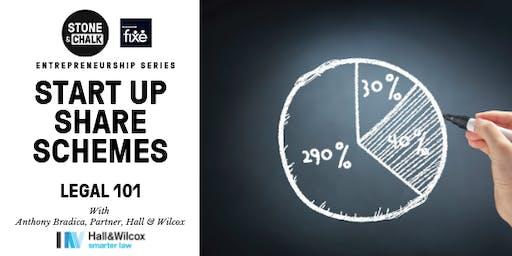 Stone & Chalk Entrepreneurship Series - 'Startup Share Scheme' - Legal 101