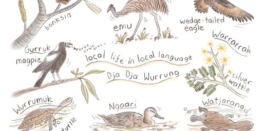 Local wildlife in local language (8-12 years) - Castlemaine