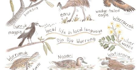 Local wildlife in local language (5-7 years) - Bendigo tickets