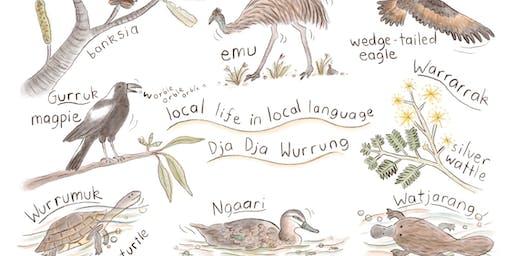 Local wildlife in local language (5-7 years) - Bendigo