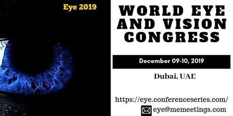 World Eye and  Vision Congress tickets