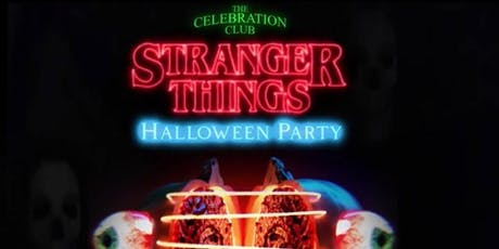 Stranger Things  Halloween Party tickets