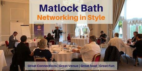 Networking Breakfast in Matlock Bath tickets
