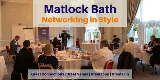Networking Breakfast in Matlock Bath