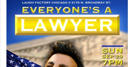 Everyone's a Lawyer (Comedy Game Show) September 29th! tickets