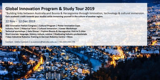 Global Innovation & Robotics Study Tour (INFO SESSION)