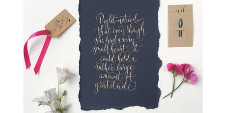 Absolute Beginners Modern Calligraphy Workshop in Manchester tickets