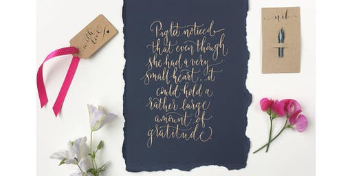 Absolute Beginners Modern Calligraphy Workshop in Manchester