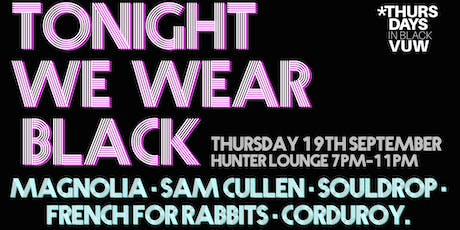 Tonight We Wear Black tickets