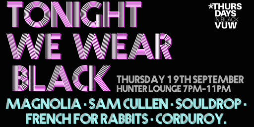 Tonight We Wear Black