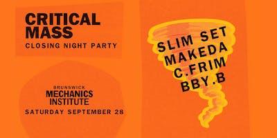 Critical Mass: Closing Night Party