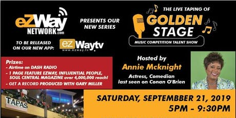Golden Stage TV Show Taping Music Content and Networking Event  tickets