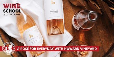 Adelaide Hills Wine Appreciation School - THINK PINK! HOWARD VINEYARD