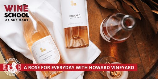 Adelaide Hills Wine Appreciation School - THINK PINK! HOWARD VINEYARD