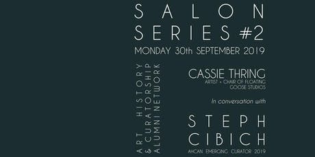 ART WORKS: Cassie Thring in conversation with Steph Cibich tickets