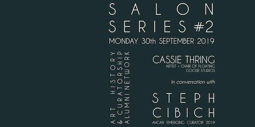 ART WORKS: Cassie Thring in conversation with Steph Cibich