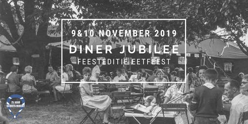 Eetfeest Scouts Herent - DINER JUBILEE