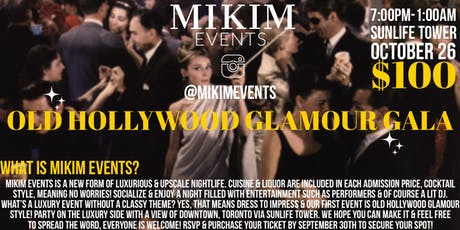 Hollywood Glamour Gala (MIKIM EVENTS) tickets