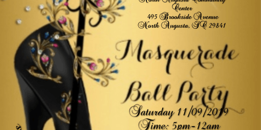 All Black Masquerade Ball