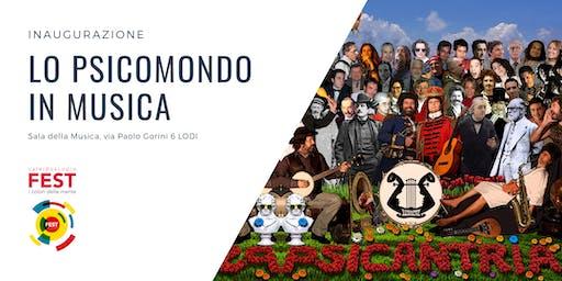 Inaugurazione Caleidoscopio Fest - Lo Psicomondo in musica