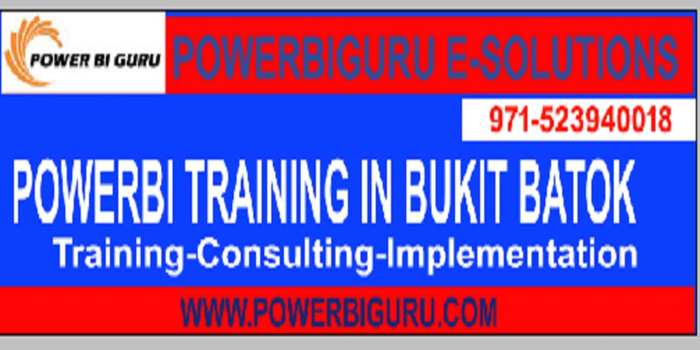 Power bi Training in Bukit Batok, Singapore