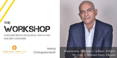 Workshop // Customer Service Excellence: How to Win and Keep Customers tickets