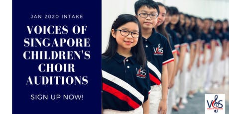 Voices of Singapore Children's Choir Auditions (Jan 2020 Intake) tickets