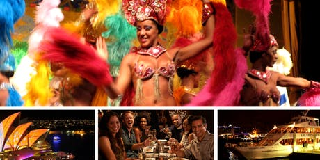 Sydney Harbour Latino Dinner & Fireworks Cruise- NOV & DEC tickets