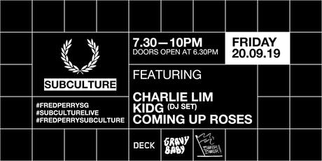 Fred Perry Subculture Live tickets