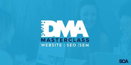 DMA MasterClass - Websites, SEO & SEM tickets