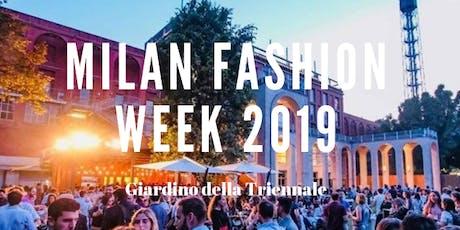 CFM / Milan Fashion Week 2019 - Al Giardino della Triennale biglietti
