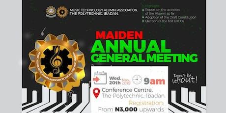 MUTAA Maiden  Annual General Meeting tickets
